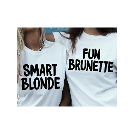 Fun Brunette - Dámské tričko pro zábavnou tmavovlásku