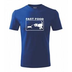 Fast Food - Pánské tričko s vtipným potiskem