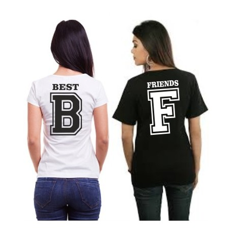 Friends - F  - Dámské tričko z potiskem Friends F, kamarádi
