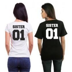 Sister 02 - Dámské tričko s potiskem Sister 02