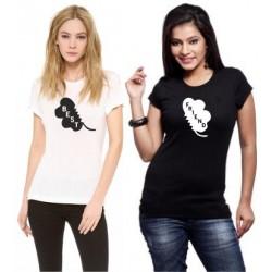 Best - Dámské tričko s potiskem BNest s potiskem ze předu