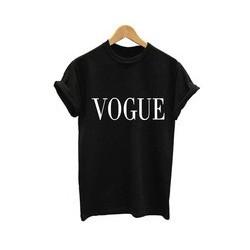 Vogue - Dámské tričko s anglickým potiskem Vogue
