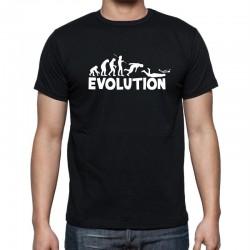 Evolution  - Pánské Tričko s vtipným potiskem