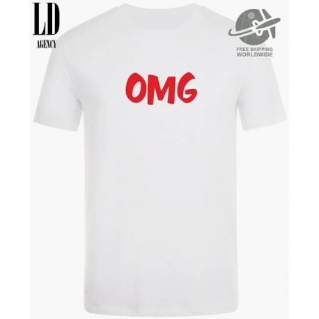 OMG - Pánské tričko s potiskem OMG