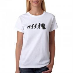 Dámské tričko Evolution Manželství