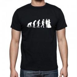 Pánské tričko Evolution Manželství
