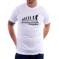 Evolution Fotograf - Pánské Tričko s vtipným potiskem