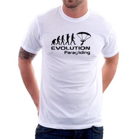 Evolution Paragliding- Pánské Tričko s vtipným potiskem