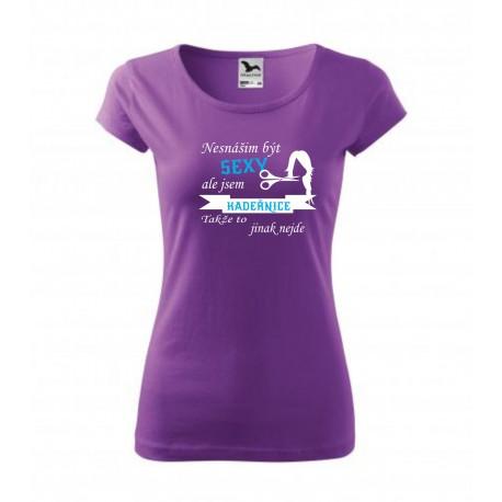 - Dámské dárkové vtipné tričko