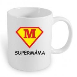 Super Máma, ve stylu supermana. Dárkový hrníček pro maminku, dárek který potěší