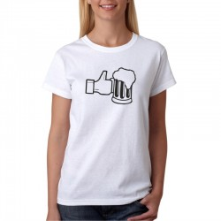 Dámské tričko Like Beer