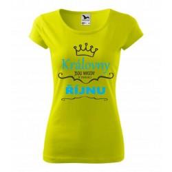 Královny jsou narozeny v říjnu. Dárek pro ženy. Dárkové tričko pro ženy narozené v říjnu.