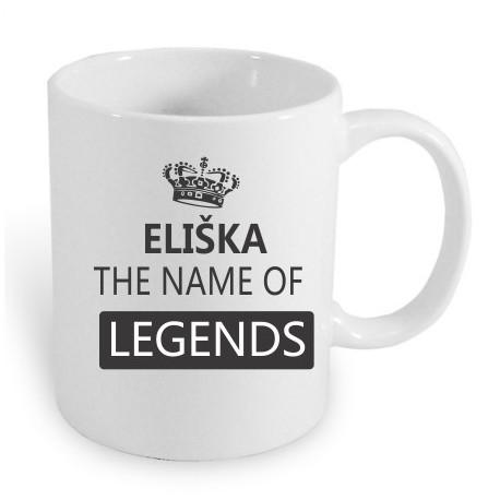 Dárek pro ženy s jménem Eliška. Eliška the name of the legends.