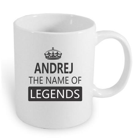 Dárek pro muže jménem Andrej. Andrej the name of legends.