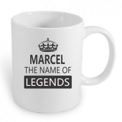 Dárek pro muže jménem marcel. Marcel the name of legends.