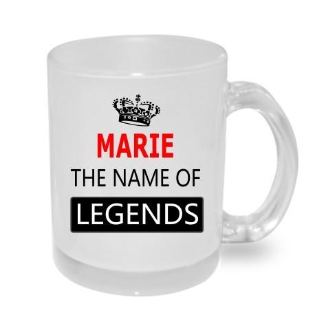 Marie the name of the legends. Dárek pro ženy s jménem Marie. Dárek pro ženu s jménem Marie.
