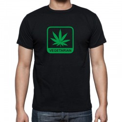 Tričko pánské Vegetarián Marihuana