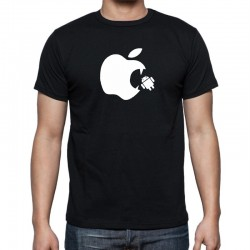 Tričko pánské Apple Vs Android