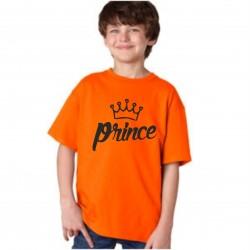 Dětské dárkové tričko s nápisem: Prince. Originální dětské tričko pro chlapce, malého Prince.