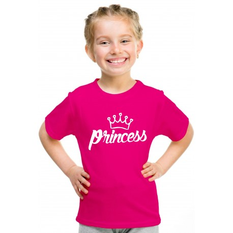 Dětské originální tričko s potiskem: Princess. Dárek pro vaší holčičku, Princeznu.