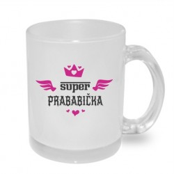 Dárek pro Prababičku: Super Prababička s křidélky anděla. Dárek pro matku vaší matky.