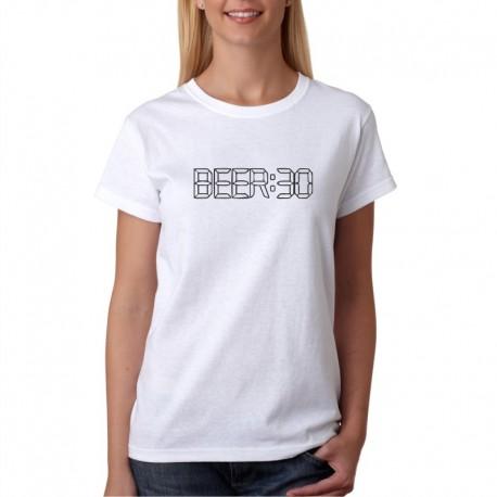 BEER:30  - Dámské Tričko s vtipným potiskem