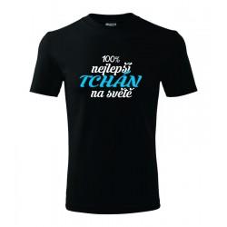 Tričko pánské 100% nejlepší Tchán na světě.