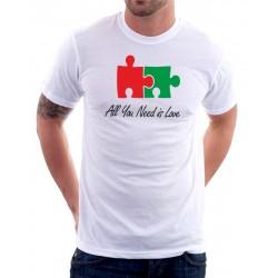 Pánské tričko All You Need is Love