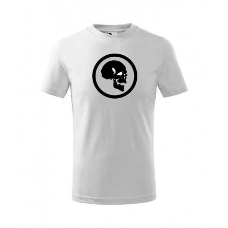 Pánské tričko s obrázkem lebky