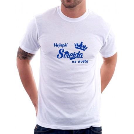 Nejlepší Strejda na světě - Pánské tričko s vtipným potiskem