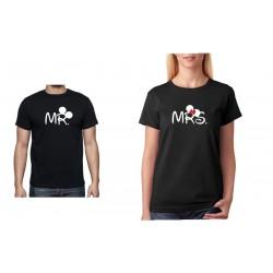 Dámské tričko Svatební Tričko Mrs.