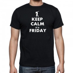 Tričko pánské Keep Calm Its Friday
