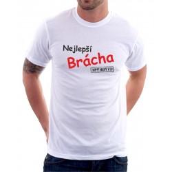 Dárek pro Bratra. Vtipné tričko s potiskem: Nejlepší brácha - Approved