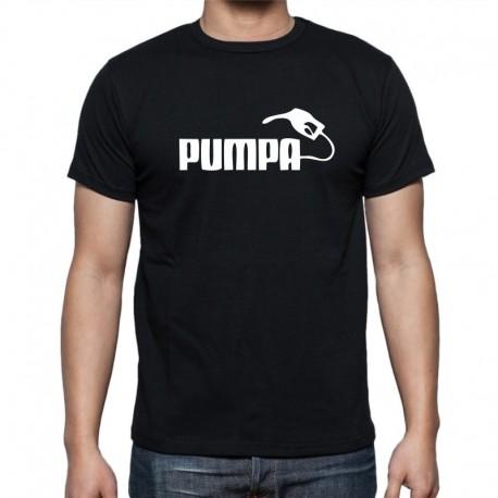 PUMPA - Pánské Tričko s vtipným potiskem