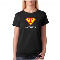 Tričko dámské Super Teta ve stylu supermana