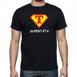 Tričko pánské Super táta ve stylu supermana