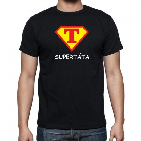 Pánské tricko SuperTáta, dárek pro taTtínka
