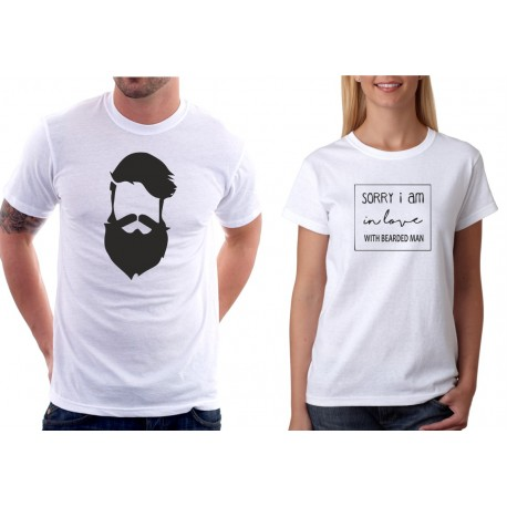 Bearded Man - Pánské Tričko s vtipným potiskem