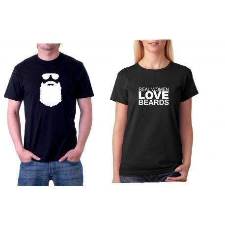Beards - Pánské Tričko s vtipným potiskem df08dd5173