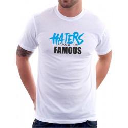 Pánské tričko Haters make us famous