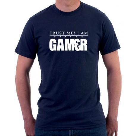 Trust me! I am gamer - Pánské Tričko s vtipným potiskem