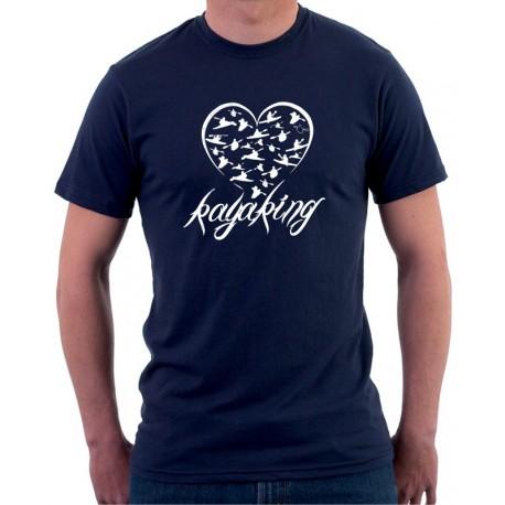 Vodácké tričko-Kayaking - Pánské Tričko s vtipným potiskem